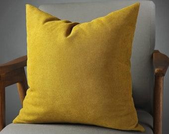 Mustard pillow | Etsy