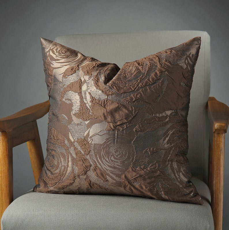 throw pillow brown pillow covers in size 20x20 set of image 0