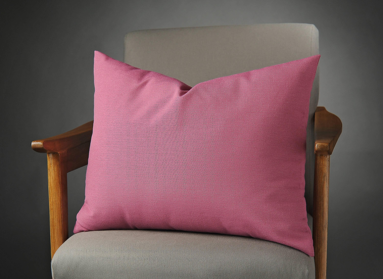 Magenta Outdoor Pillow Pink Bed Pillow Magenta Pillow Cover Pink Decorative Pillow Magenta Couch Pillow