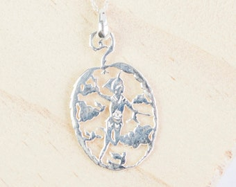 Personalised Peter Pan Necklace * Sterling Silver * Fairy Tales * The Boy Who Never Grew Up * J.M Barrie * Forever Young