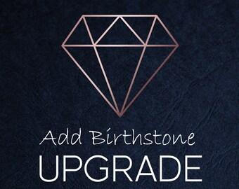 Birthstone Upgrade - 18ct Rose Gold Vermeil
