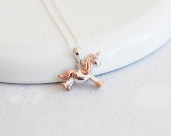 Cybele * Unicorn Necklace * Sterling Silver * Unicorn Pendant * Unicorn Jewelry * Unicorn Gift * Fantasy * Mythology * Silver Unicorn *