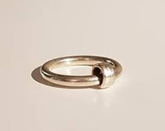 UK N - Sterling Silver Spinning Ring - End of Line