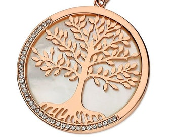 Personalised Tree of Life Necklace * Sterling Silver * Rose Gold * Birthday Gift * Tree of Life Pendant * Family Tree Jewelry * Family