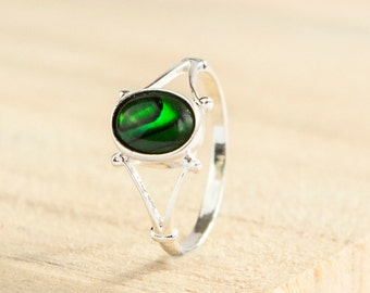 Celtic Ring * Sterling Silver * Celtic Birthstone Ring * Celtic Knot * Irish Ring * Celtic Knot Jewelry * Birthstone Ring *