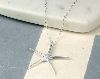 Lyrea * Starfish Necklace * Sterling Silver * Ocean Jewelry * Summer Pendant * Beach Holiday * Under the Sea * Starfish Jewelry Gift *