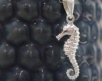 Adriana * Seahorse Necklace * Sterling Silver * Ocean Jewelry * Summer Pendant * Beach Holiday * Under the Sea * Seahorse Jewelry Gift *