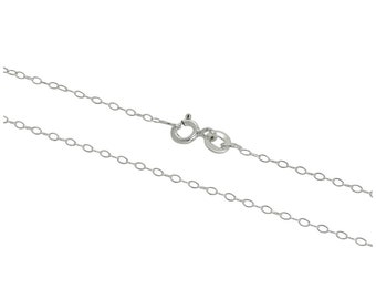 1mm Trace Chain * 14 16 18 20 22 24 28 inches * Sterling Silver