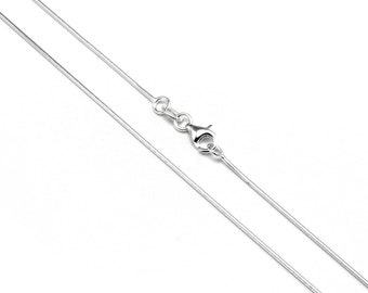 1mm Snake Chain * 14 16 18 20 22 24 28 32 inches * Sterling Silver