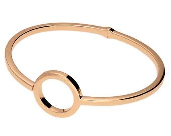 Eden * Circle of Life Bracelet * Sterling Silver * Rose Gold * Mothers Bracelet * Gift for Her * Circle Bracelet * Geometric * Engraved *