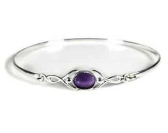 Personalised Organic Bracelet * Sterling Silver * Organic Jewelry * Textured Organic Jewelry * Rustic Bangle * Fluid Bracelet * Rustic