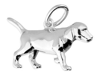 Personalised Labrador Retriever Necklace * Sterling Silver * Labrador Pendant * Dog Jewelry