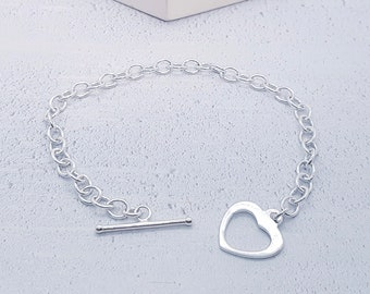 0.7mm Cable Bracelet Chain * 8 inches * Sterling Silver * Ideal for Clip Charms