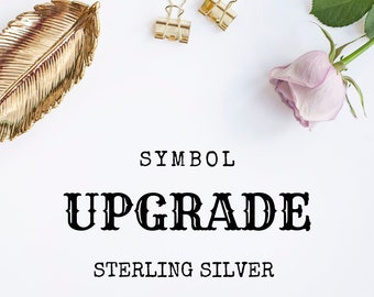Symbol Upgrade - Sterling Silver