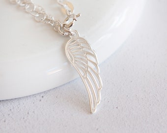 Niska * Wing Feather Anklet * Sterling Silver * Remembrance Jewelry * Help through Grief * Loss of Parent, Sibling, Child, Baby, Pet *