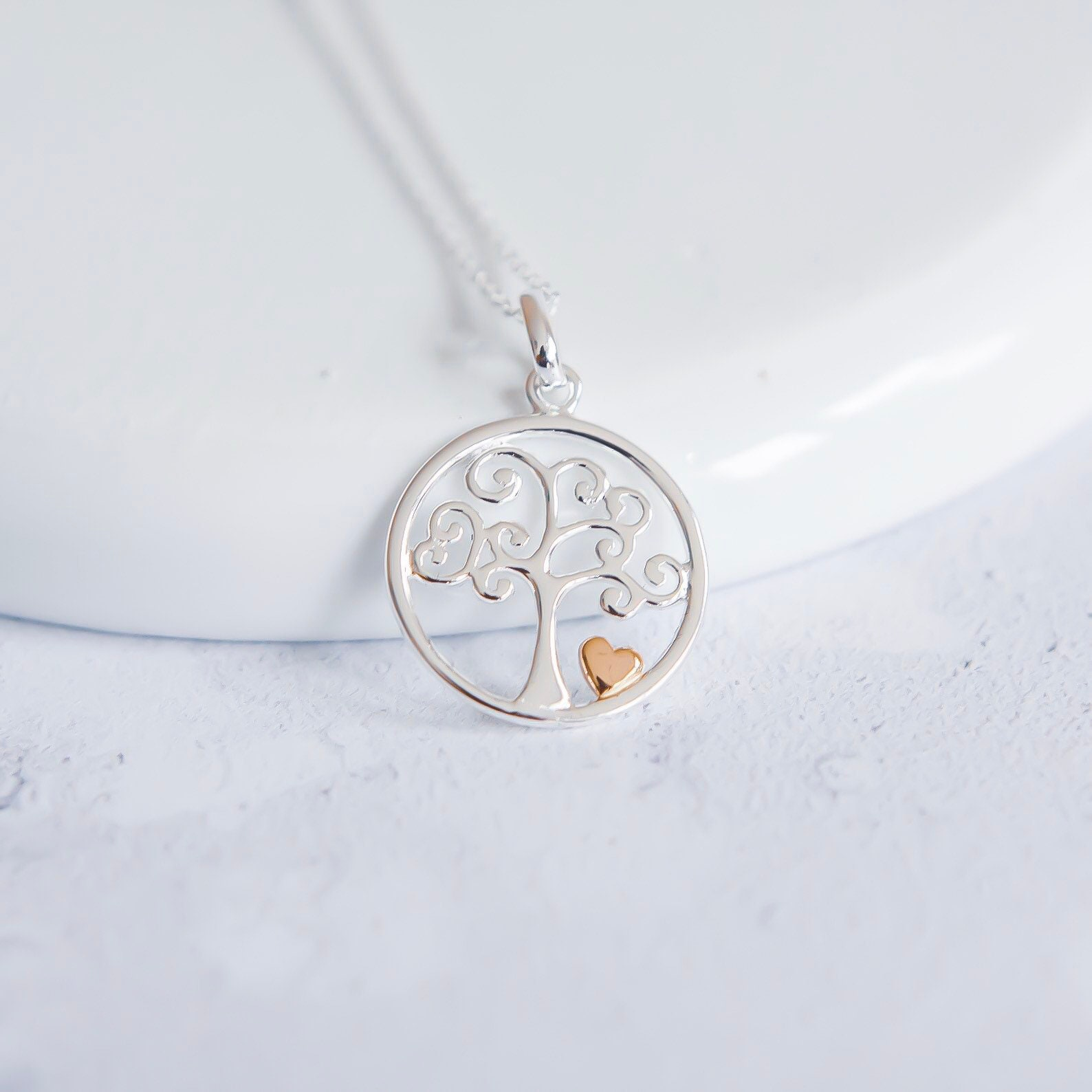 Sterling Silver Girls .8mm Box Chain Woman Runner Pendant Necklace