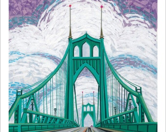 St Johns Bridge, Portland OR