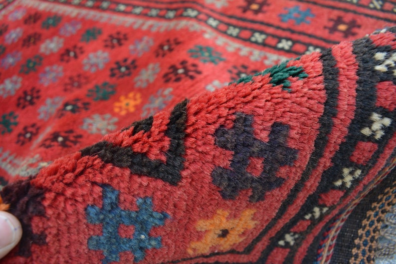 2/' x 3/'2 Feet Stunning Handmade Vintage Afghan Tribal 100/% Wool Baluchi Traditional Hallway Rug Moroccan Rug Caucasian Rug SIZE