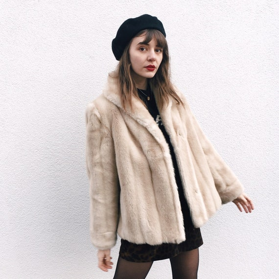 Gorgeous Faux Fur Vintage 60s Coat
