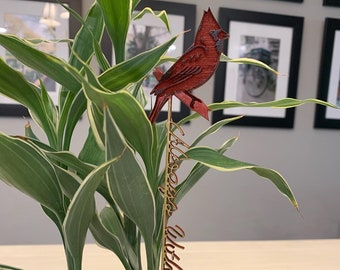 Cardinal 'Always With You'Plant Markers, Picks, Stakes