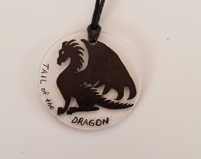 Tail of the Dragon charm