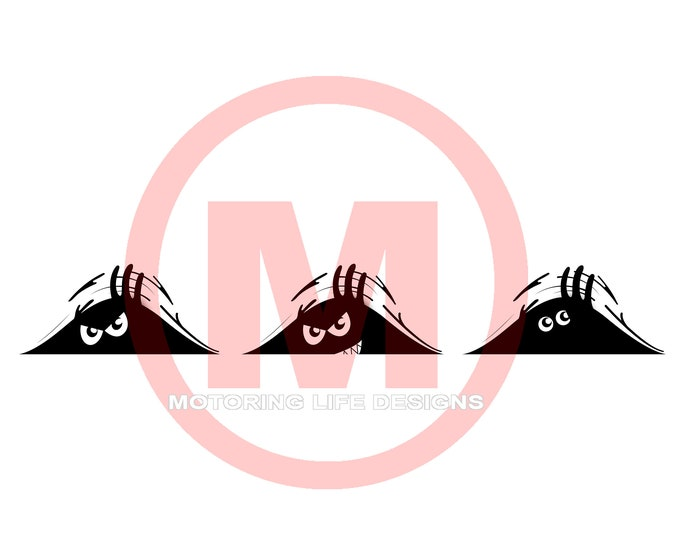 WATCHING YOU vinyl decal