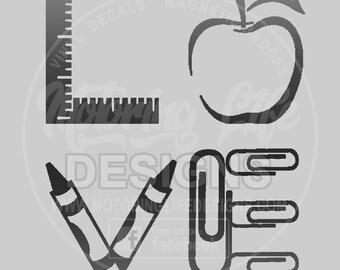 Teacher LOVE vinyl decal