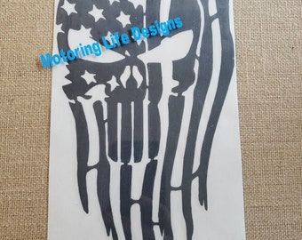 American Punisher vinyl decal