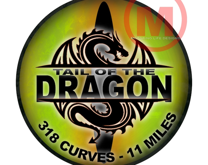 "Grill Badge- DRAGON EYES GREEN  3"" magnetic grill badge"