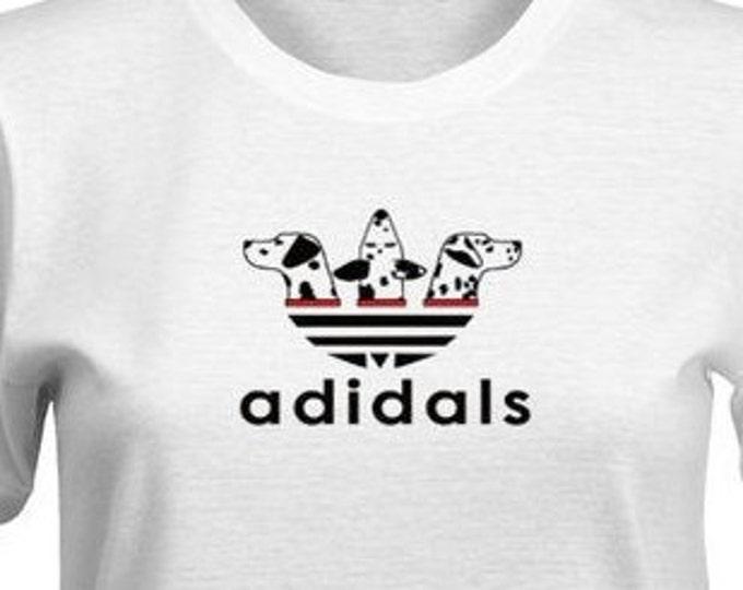 adidal Dalmatian t-shirt