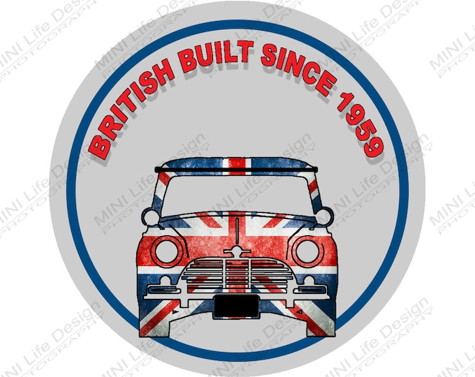 "Stickers- British Built 2"" Vinyl Sticker"