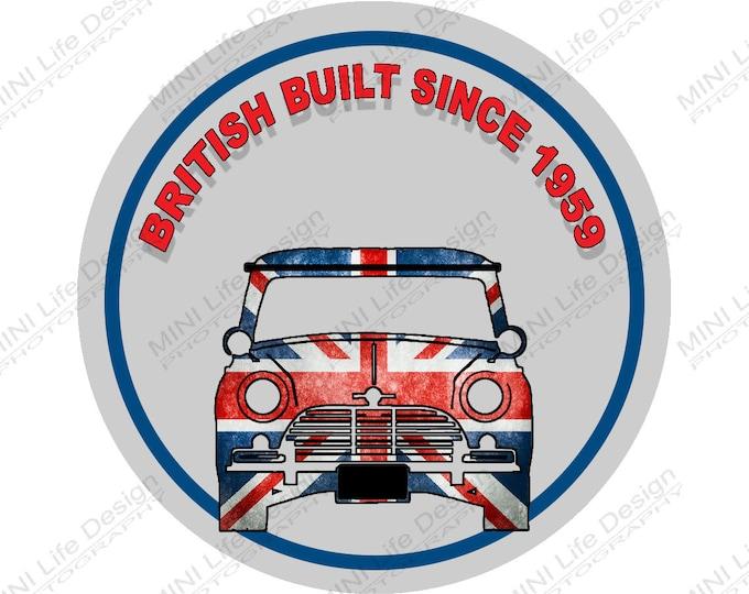 """Stickers- British Built 2"""" Vinyl Sticker"""