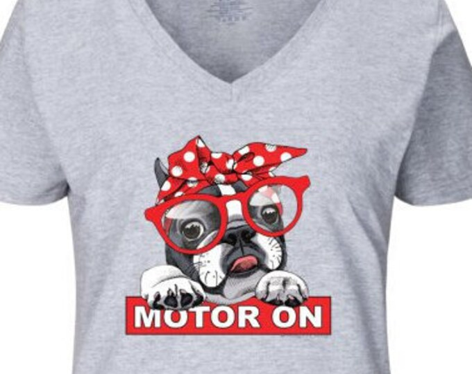 MOTOR ON - Chili Red t-shirt
