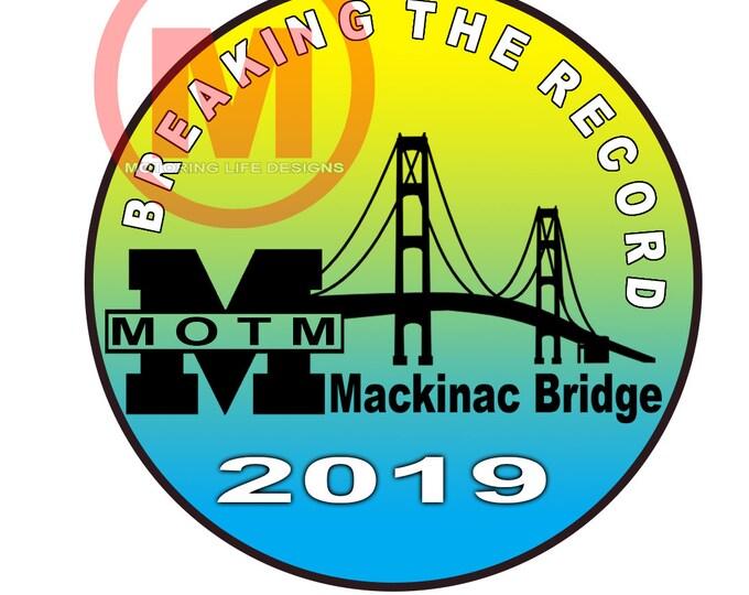 """Sticker- MOTM 2019 3"""" Vinyl Sticker"""