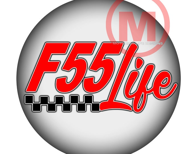 """Grill Badge- F55 Life"""" magnetic grill badge"""