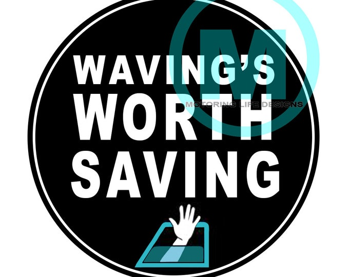 Stickers- Save the Wave Vinyl Sticker