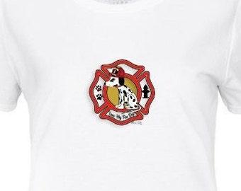 Fire Dog Women's t-shirt