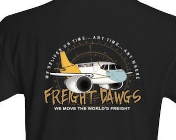 Freight Dawg 777 Black t-shirt