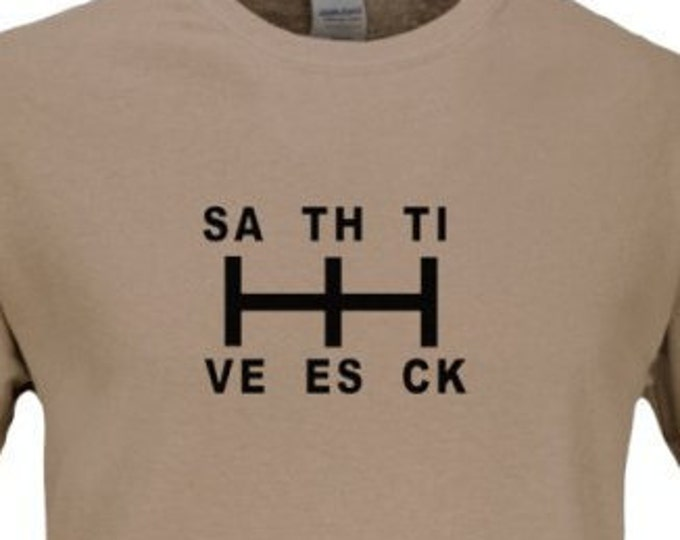 SAVE THE STICK.... t-shirt