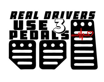 Real Drivers vinyl decal