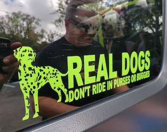 Real Dogs vinyl decal