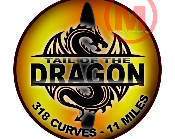 "Grill Badge- DRAGON EYES YELLOW  3"" magnetic grill badge"