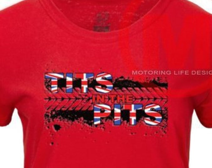 TITS in the PITS British t-shirt