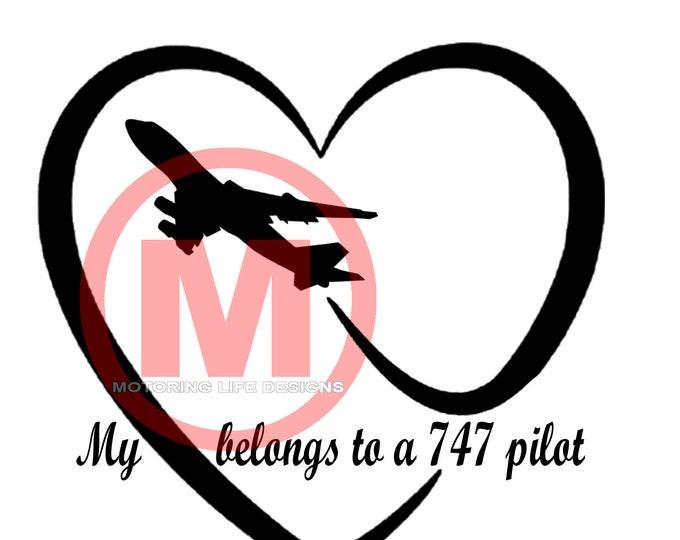 My Heart vinyl decal