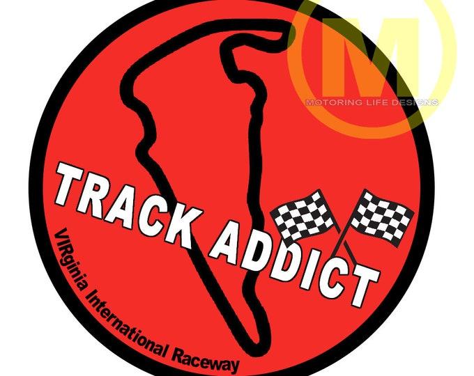 Stickers- VIR Track Addict