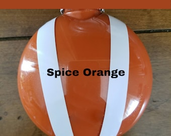 Bonnet ornament- Spice Orange