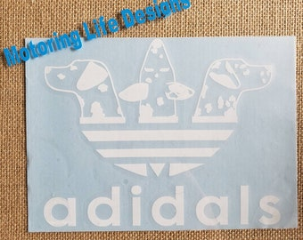 adidals vinyl decal