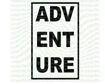 Adventure vinyl decal