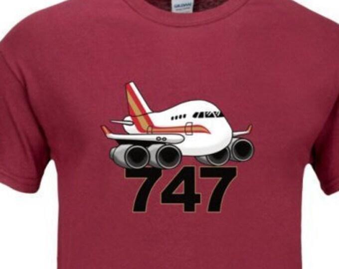 747 t-shirt