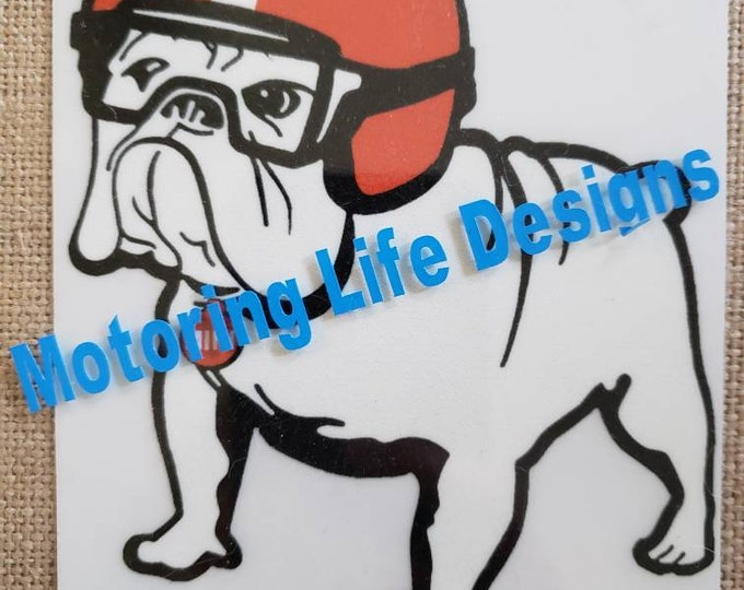 "Vinyl Sticker - Bulldog   4"" Vinyl Sticker"
